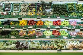 photo of supermarket produce