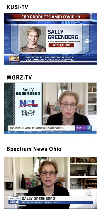 NCL media interview about CBD claims