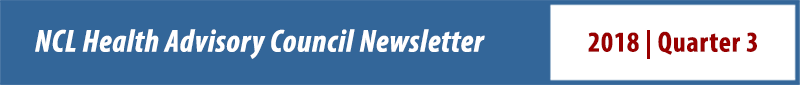 Health Advisory Council Newsletter Q3 2018
