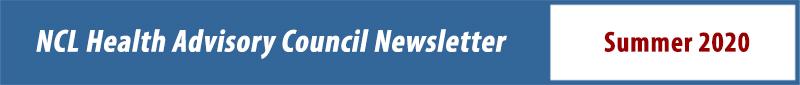 Health Advisory Council Newsletter Summer 2020