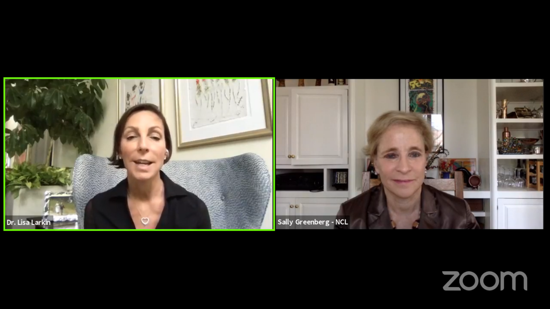 Facebook live chat about COVID testing with NCL and Dr. Lisa Larkin