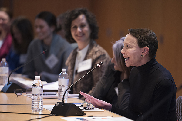 Health Advisory Council Members at December meeting